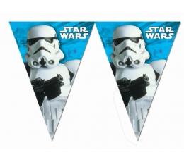 """Karodziņu vītne """"Zvaigžņu kari"""" (9 karodziņi)"""