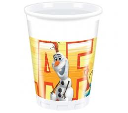 """Plastmasas glāzītes """"Olafa vasara"""" (8 gab/200 ml)"""