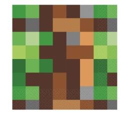 """Papīra salvetes """"Minecraft"""" (16 gab)"""