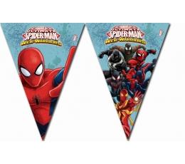"""Karodziņu vītne """"Zirnekļcilvēks"""" (9 karodziņi)"""