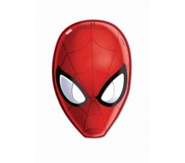 """Maskas """"Zirnekļcilvēks"""" (6 gab)"""