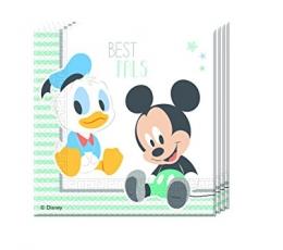 """Salvetes """"Peļuks Mikijs un mazie draugi"""" (20 gab)"""