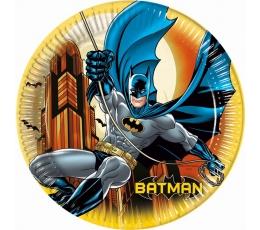 """Šķīvīši """"Betmens"""" (8 gab/23 cm)"""
