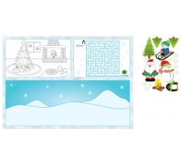 "Подставки с наклейками и заданиями ""Рождество "" (8 шт)"