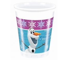 "Plastmasas glāzītes ""Frozen"" (8 gab/ 200 ml)"