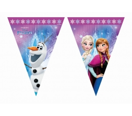 """Karodziņu virtene """"Ledus sirds"""" (9 karodziņi)"""