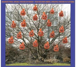 "Maisiņi rudens lapām ""Ķirbji"" (20 gab)"