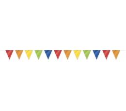 Флажки разноцветные (10 м)