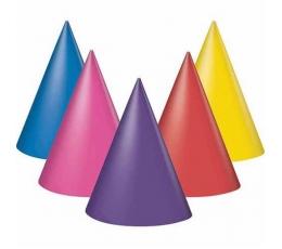 Cepurītes, daudzkrāsainas (8 gab)