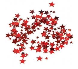 "Konfetti ""Sarkanas zvaigznītes"""