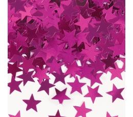 """Konfetti """"Rozā zvaigznes"""" (14 g)"""