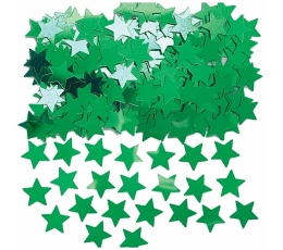 "Конфетти ""зеленые звезды """