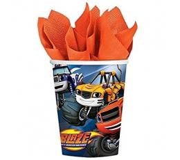 "Glāzītes ""Blaze"" (8 gab/ 266 ml)"