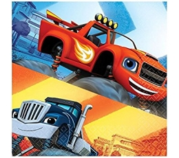 "Salvetes ""Blaze and the monster machines"" (20 gab)"