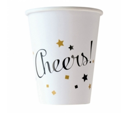 """Glāzītes """"Cheers"""" (8 gab/ 266 ml)"""
