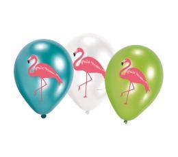 """Baloni """"Flamingo"""" (6 gab/ 28 cm)"""