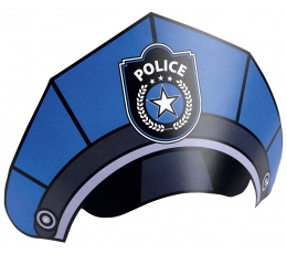 "Cepurītes ""Policija"" (8 gab)"