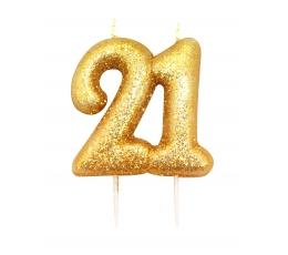 """Svecīte """"21"""" zelta"""
