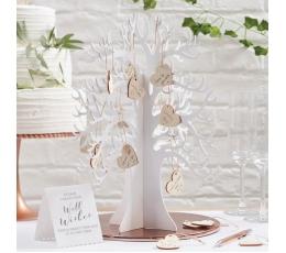Novēlējumu koks ar sirdīm/ viesu grāmata