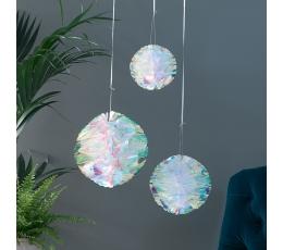 Burbuļi, spīdīgi -perlamutra (3 gab)