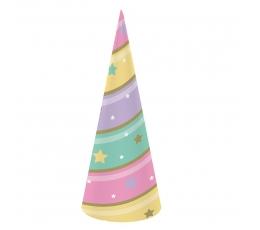 """Cepurītes """"Spīdīgs Vienradzis"""" (8 gab)"""