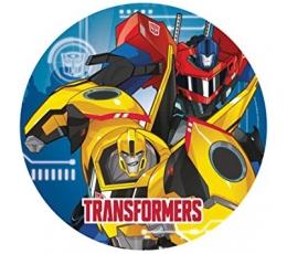 """Šķīvīši """"Transformeri"""" (8 gab / 23 cm)"""