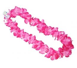 """Цветочная гирлянда """"Гавайи"""", розовая (1 м)"""