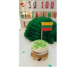 """Karodziņi, uzlīmes """"Lietuvas karogs"""" (16 gab)"""