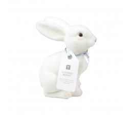 Декоративный зайчик, белый (20 см)