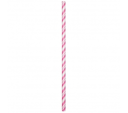 Salmiņi, rozā strīpaini (24 gab)