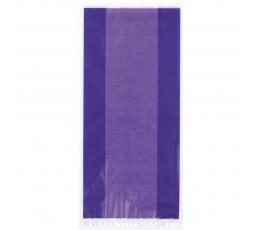 Пластиковые мешочки, фиолетовые (30 шт)