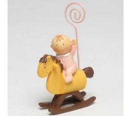 """Bildes turētājs """"Meitene uz zirga"""" (8,5 cm)"""