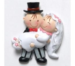 """Magnēts """"Ar līgavu klēpī"""" (5 cm)"""