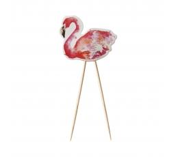 """Kociņi-dekorācijas """"Flamingo"""" (8gab)"""
