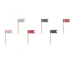Irbulīši-dekorācijas- karodziņi (6gab)