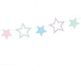 "Virtene ""Pasteļtonu zvaigznītes"" (1,4 m)"