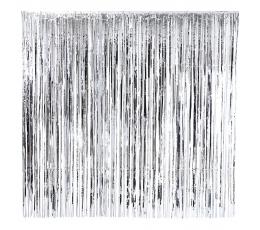 Folija aizskari, sudraba krāsā (2x2 m)