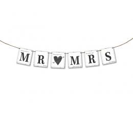 "Гирлянда ""Mr&Mrs ""(77 см)"