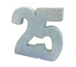 """Galda dekorācija """"25"""" (20 cm)"""
