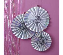 Декоративные вееры, перламутровые (3 шт)
