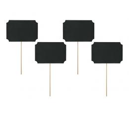 Krītpapīra kartiņas, ieapraužamas (4 gab)