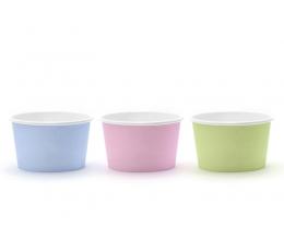 Чашечки для закусок, пастельных оттенков( 6 шт)
