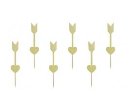"""Irbulīši dekorācijas """"Amora bultas"""" (6 gab)"""