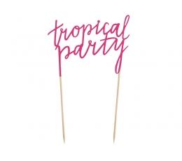 """Декорация для торта """"Tropical Party"""""""