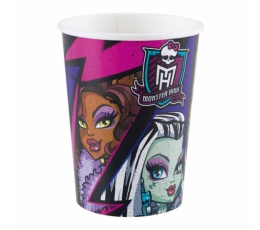 "Glāzītes ""Monster High"" (8 gab/266 ml)"