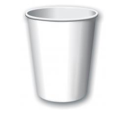 Glāzītes, baltas (8 gab./266 ml)