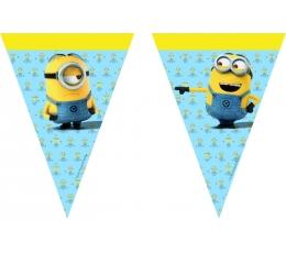 "Kardoziņu virtene ""Minioni"" (9 karogi)"