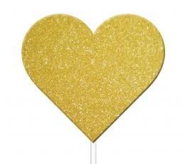 """Irbulīši dekorācijas """"Zelta sirsniņas"""" (12 gab)"""