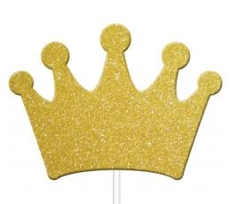 """Irbulīši dekorācijas """"Zelta kronis"""" (12 gab)"""
