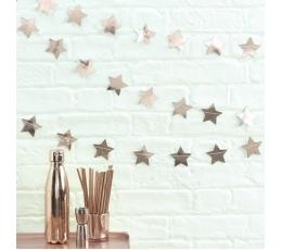 "Virtene ""Rozā-zelta zvaigznes"" (5 m)"